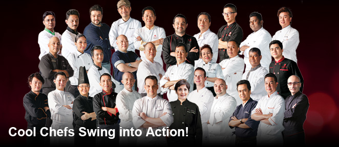 Cool Chefs Swing into Action!